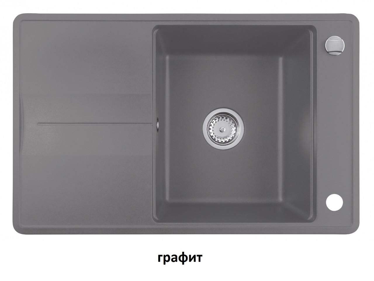 Мойка кухонная гранит TEKA Estela 50 B-TQ