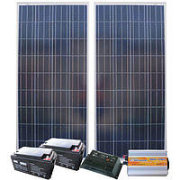 Автономная Солнечная электростанция - Дача 48/14кВт*ч в мес., AXIOMA energy