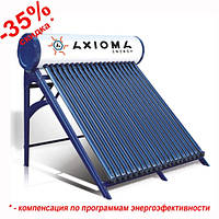 Термосифонний сонячний колектор c напірним баком  AXIOMA energy AX-30D
