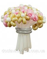 Нежный свадебный букет из 21 воздушного шара