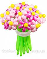 """Розовый букет из воздушных шаров """"Розовая мечта"""" 21 шт"""