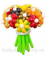 """Букет цветов осенний из воздушных шаров """"Осенние краски"""" 21шт"""
