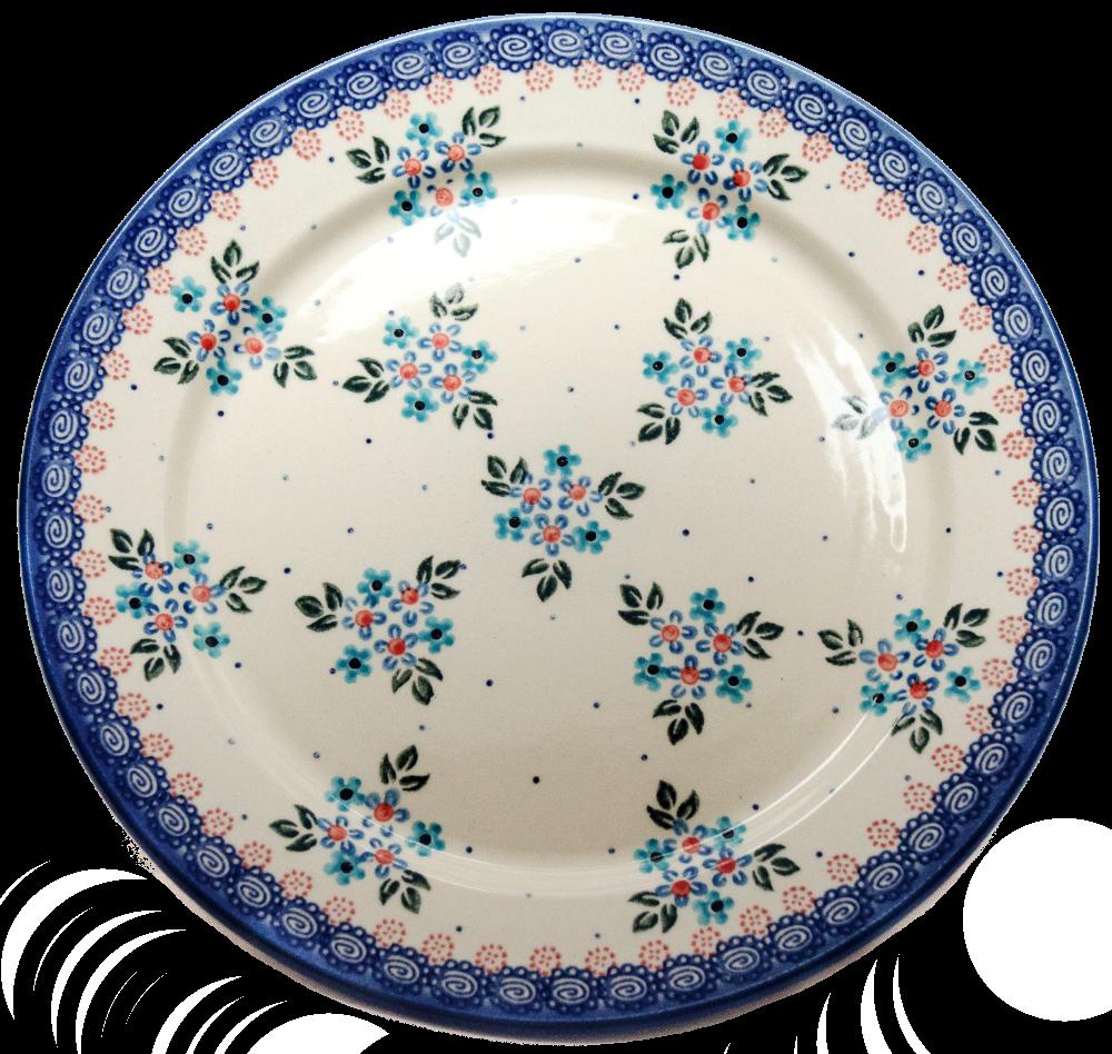 Керамическая Тарелка Ø25 Blue Chintz