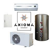 Тепловий насос для гарячої води: водонагрівач + кондиціонер COILER WIT, AXIOMA energy
