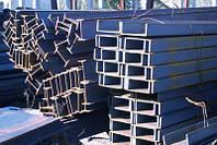Швеллер сталь размеры: 10, 12, 14, 16, 18, 20, 22, 24, 27  ГОСТ 8240