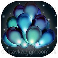 Светящиеся гелиевые воздушные шары со светодиодами