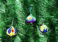 Елочные игрушки/набор 3 шт-Новогодние украшения