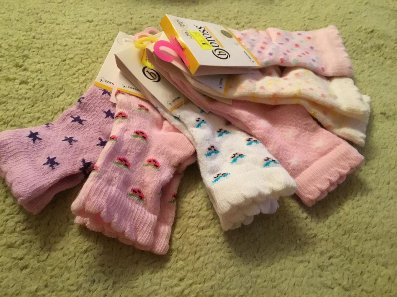 Повседневные носочки для девочки ажурные