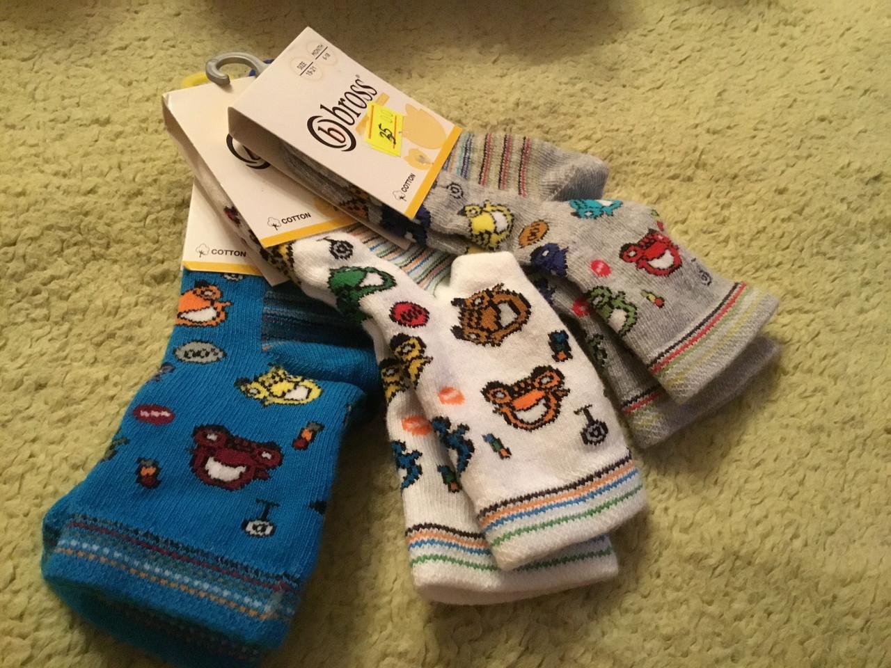 Носочки для ребенка с яркими рисунками