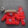Детский комбинезон Космонавт красный, фото 2