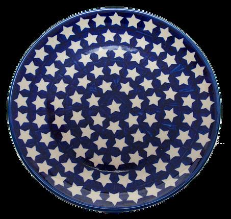 Керамическая тарелка десертная, закусочная Ø22 Starry sky, фото 2