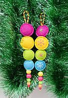 Елочное украшение/конфеты 2 шт-Новогодние украшения, фото 1