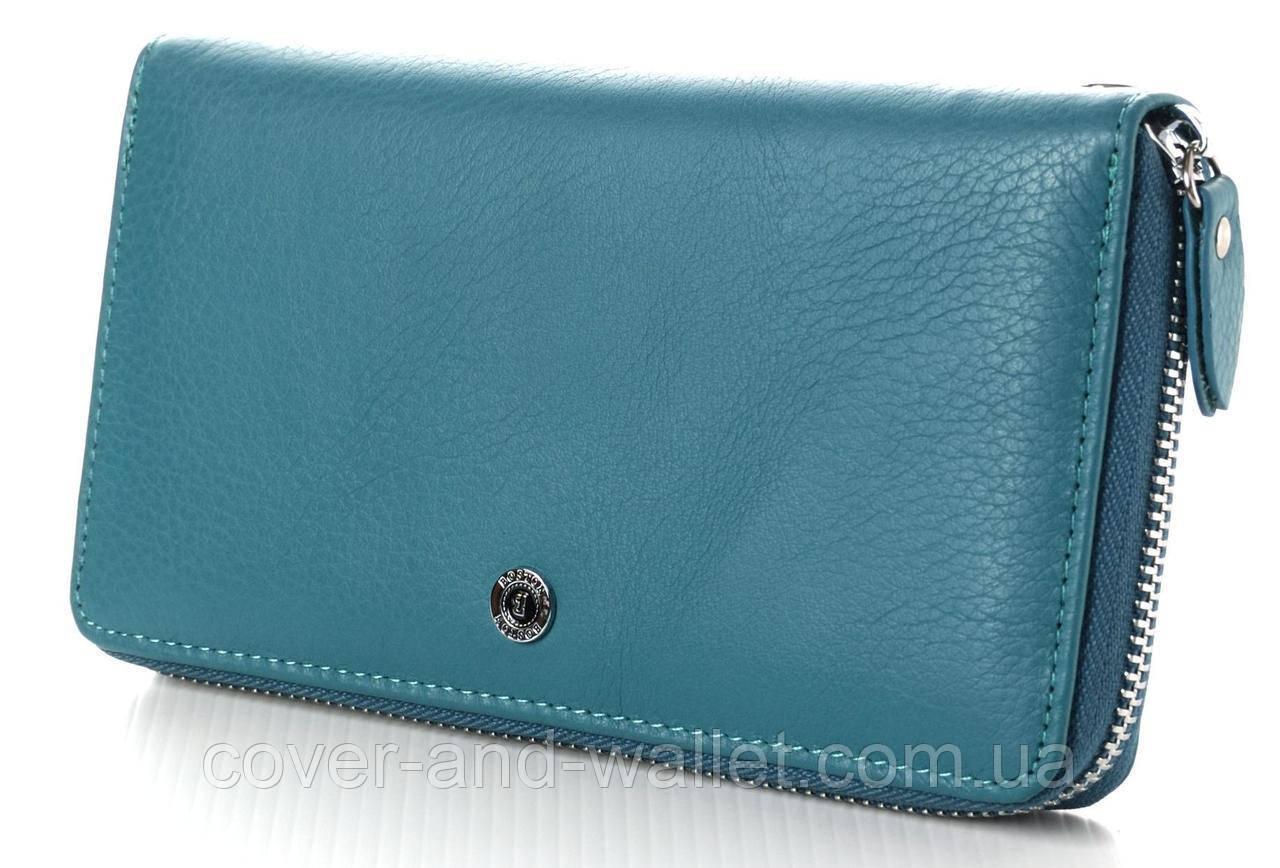 a55628690a07 Оригинальный женский кожаный кошелёк на молнии BOSTON, цена 685 грн., купить  Київ — Prom.ua (ID#827360561)