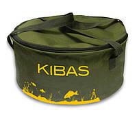 Ведро для прикормки KIBAS c крышкой Line (KS226)
