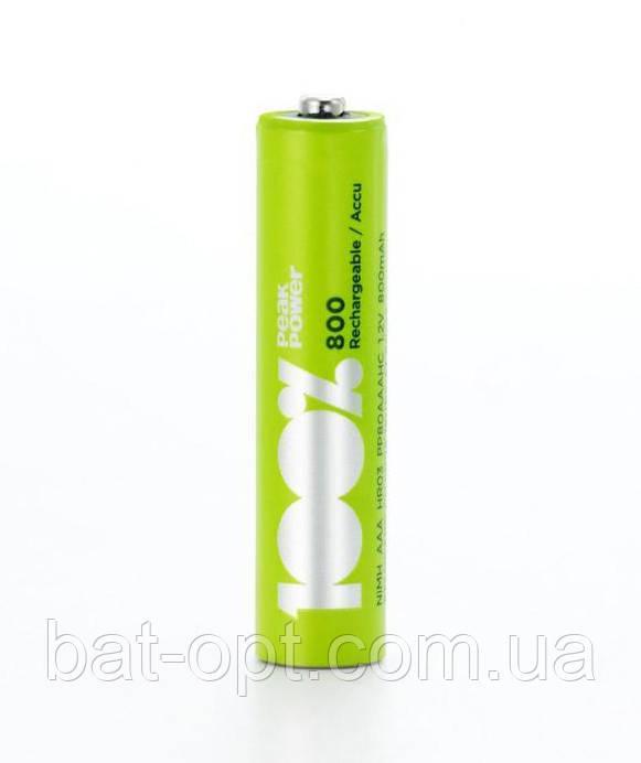 Аккумулятор Peak Power R3 AAA 800mAh Ni-MH минипальчиковый