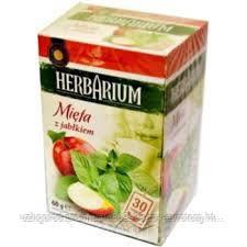 Чай Herbarium мята и яблоко 30 пакетов