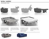 Раскладной диван LENNOX спальное место 160 см, Ditre Italia (Италия), фото 8