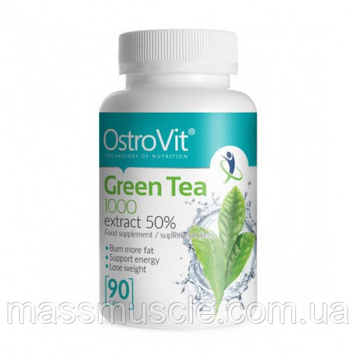 Жиросжигатель OstroVit Green Tea 90tab