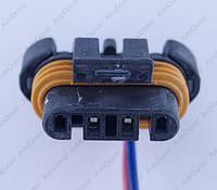 Разъем электрический 4-х контактный (25-7) б/у