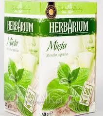 Чай Herbarium мята 30 пакетов