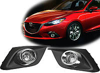 Противотуманные фары Mazda 3 '14- (DLAA), фото 1