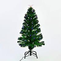 Искусственная елка с подсветкой 90 см 80 веток Зеленый (29326)