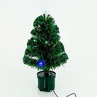 Искусственная елка светящаяся 65 см 52 веток Зеленый (758)