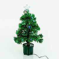 Искусственная елка светящаяся 65 см 52 ветки Зеленый (755)