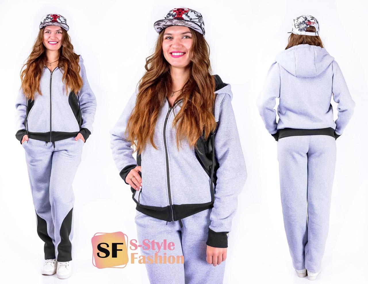 Спортивный костюм женский трехнитка