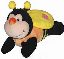 Мягкая игрушка пчела лежачая 17 см AURORA