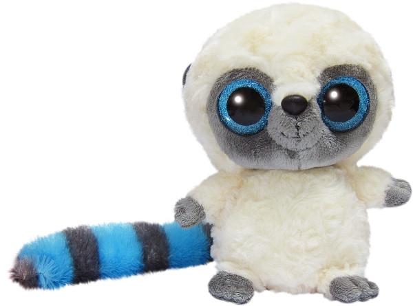YooHoo Мягкая игрушка лемур голубой блестящие глазки 23 см AURORA