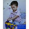 Игрушка конструктор Limo Toy 789 машинка музыкальная 30см, фото 6