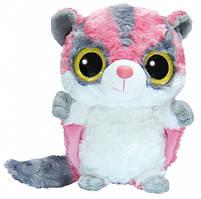 YooHoo Мягкая игрушка сумчатая летяга блестящие глазки 23 см AURORA