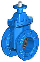 Засувка з гумованим клином під електропривод T. I. S service (Італія) A021 PMOT-S DN100 PN16 (ДУ100 РУ16)