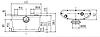 Канализационная станция сололифт Euroaqua MP-600 для санузлов 0.6кВт Hmax6м Qmax140л/мин, фото 3