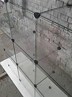Стеклянный куб витрина 3,35 бу. витрина стеклянная б/у, фото 1