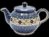 Заварочный керамический чайник 1L Барвинок, фото 1