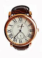 Часы мужские Geneva Коричневые, фото 1