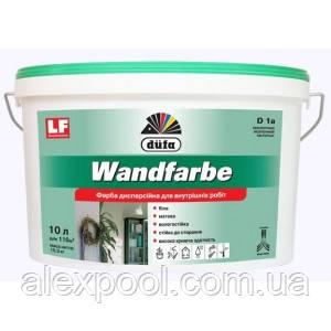 Краска дисперсионная Wandfarbe D1a 1,4 кг
