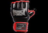 Перчатки для MMA PowerPlay 3058 черно-красные S, фото 1