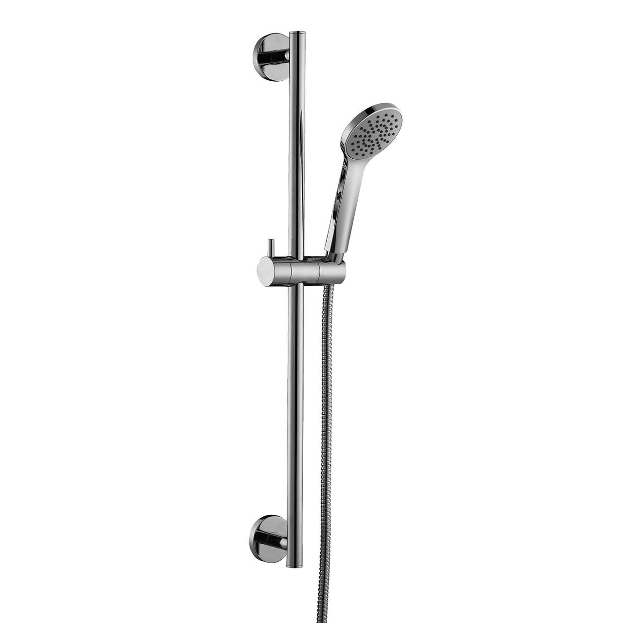Штанга душевая L-60см, ручной душ, шланг