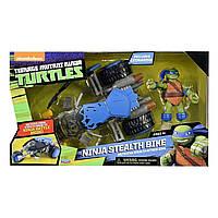 Игровой набор TMNT Черепашки-ниндзя Рестайлинг Леонардо на Стелсе 94271 ТМ: TMNT
