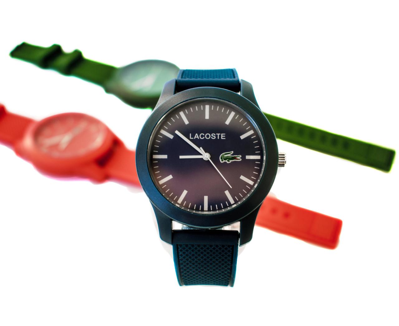 Женские часы Lacoste три цвета (replica)