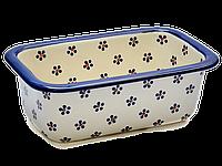 Керамическая форма для выпечки хлеба 25 Вlue Florets