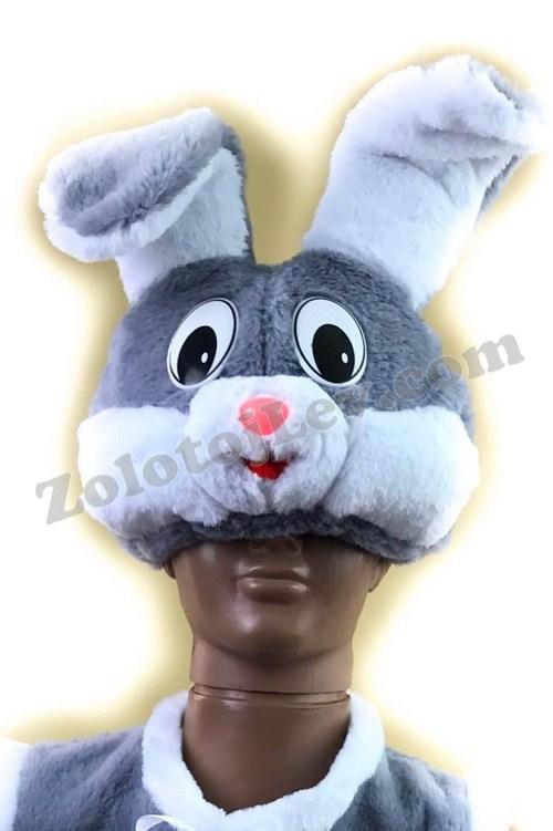 Карнавальная маска Зайчика