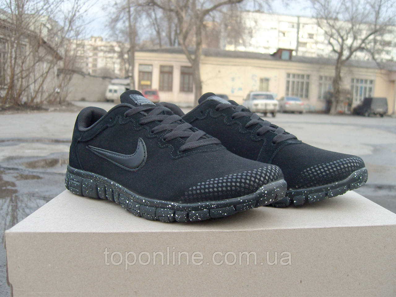 8adf3340 Кроссовки Nike Free Run 3.0 all black, цена 750 грн., купить Запоріжжя.  Самовивозу немає — Prom.ua (ID#591018200)