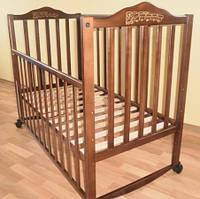 Sonno KR-300 без ящика цвет орех детская кроватка