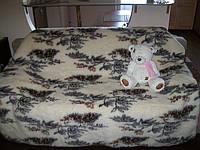 Ковдра дитяча з натуральної овечої вовни 110х140