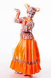 Детский карнавальный костюм для девочки Лиса Патрикеевна 122-140р, фото 2
