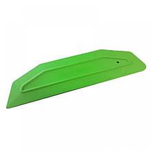 21910002 Ракель широкий зеленый, Wide squeegee XC - Uzlex, 207x55mm, green